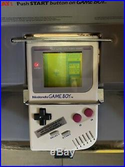 Nintendo Game Boy Kiosk M90V Store Interactive Display Rare Gameboy Sign