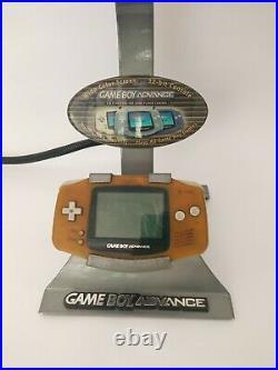 Nintendo GameBoy Advance GBA Store Kiosk Demo Display Unit Ultra Rare