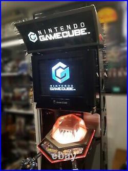 Nintendo Gamecube Full Upright Store Display Kiosk Rare GCN