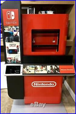Nintendo Switch Store Display Rare Nes Led Lighting