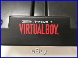 Nintendo Virtual Boy Game Store Console Kiosk Display Stand (Japanese) RARE