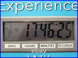 Nintendo Wii Store Display Countdown clock Mario Zelda Very Rare
