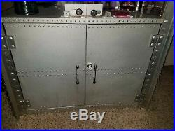 Oakley Aluminum Display Case X-Metal Double Wide Rare With Light Kit & key
