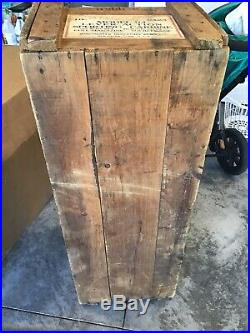 Old 32 Special Winchester Rifle Crate Ammo Box Pre 64 Store Display Antique Rare