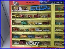 Original Scarce Very Rare Vintage 1956-57 Matchbox 55 Car 49 Cent Store Display