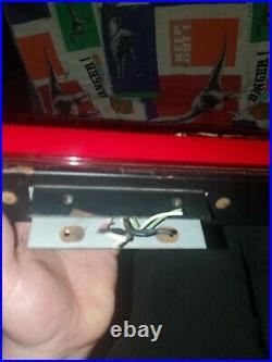 Original Super Nintendo Countertop Store Display SNES Kiosk sign RARE