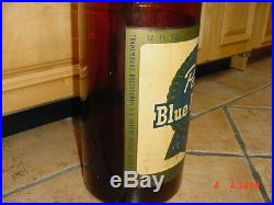 PBR Store Display RARE Vintage 30 Glass Pabst Blue Ribbon Empty Beer Bottle