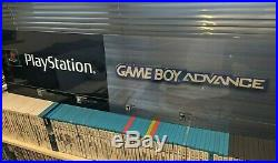 Playstation PS1 Game Boy Nintendo Promo Store Sign Display Kiosk RARE 48