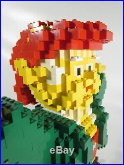 RARE 14 Large LEGO Keebler Elf Store Display Promotion Advertising Sculpture