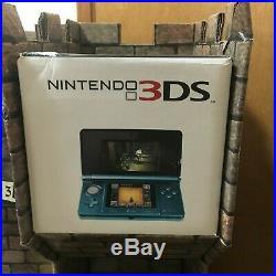 RARE AS IS Nintendo Legend Of Zelda Ocarina Of Time 3DS Cardboard Store Display