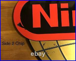 RARE AUTHENTIC World of Nintendo Globe Sign Video Game Store Display NES SNES