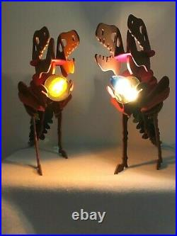 RARE! Coach Store Large LIGHTED REXY CHRISTMAS Display