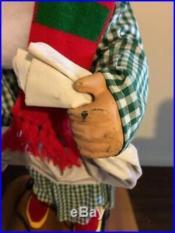 RARE David Hamberger Mechanical Boot Polishing Elf Store Display