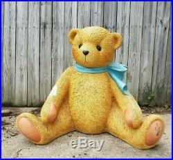 RARE Huge Enesco Cherished Teddies Bear Promotional Store Display Statue 1998
