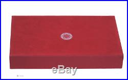 RARE MONTBLANC RED TWO SIDE STORE DISPLAY 1980s
