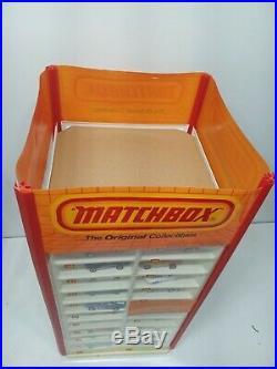 RARE Matchbox Store Display Case rotary vintage spinning Hot Wheels Ertl Corgi 1