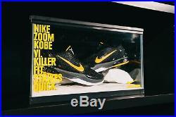 RARE Nike Kobe Zoom 6 VI Snake Tank Crate Footlocker Promotional STORE DISPLAY