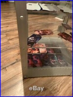 RARE OAKLEY X Metal Display Cabinet Case 28 x 16 x 16 NO KEY