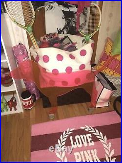 RARE Victorias Secret PINK LARGE Plexiglass DOG Store Display Prop Sign HTF