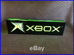 RARE-Vintage Neon Xbox Game Store Display Light Sign