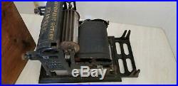 RARE WONDERFUL NO. 3 AUTOMATIC ROTARY PRINTER SALESMAN SAMPLE With BOX & TYPE SET