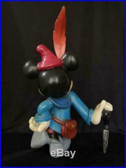 RARE Walt Disney Mickey Mouse Little Tailor statue store display figure big fig