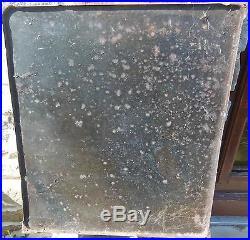 RARE et BELLE plaque émaillée ancienne boule d' or