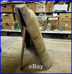 RARE1870 Antique Wasp Waist Bustle CORSET Mannequin Store Display Paper Mache