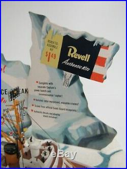 Rare 1957 Original Revell USCG Ice Breaker Eastwind Store Display Model SB476