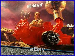 Rare 1985 Motu He Man Store Display Mib Environmental Gondola Displayer