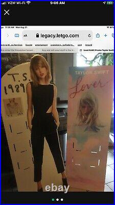 Rare 2 Taylor Swift 1989 Standee store Displays 1989 & Lover -Missing Holders