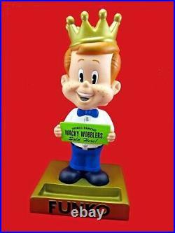 Rare 2002 Vintage Freddy Funko Wacky Wobbler 20 Store Display Bobblehead Xlnt