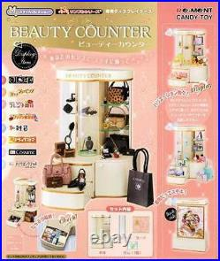 Rare 2005 Re-Ment Department Store Beauty Counter Display Cabinet
