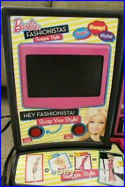 Rare 2010 Barbie Fashionistas Swappin' Styles Electronic Store Display