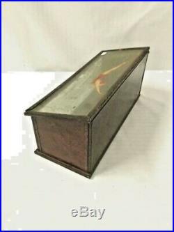 Rare Antique Jantzen swimwear wood/glass advertising counter store display case