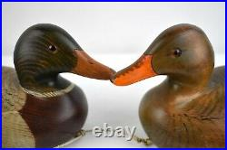 Rare Beautiful Matched Pair Duck Decoys Abercrombie & Fitch Robert Capriola A&f