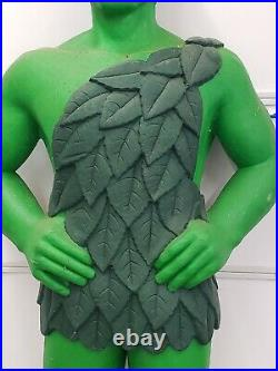 Rare Country Store Supermarket Advertising Display Jolly Green Giant