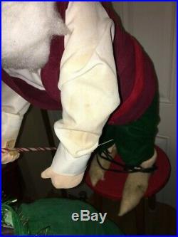Rare David Hamberger Mechanical Store Display Bagged Gnome