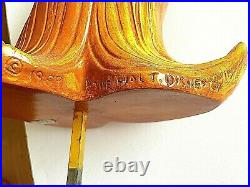 Rare Disney Store 29 Fantasia Bucket Brigade 3 D Display Figurine