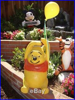 Rare Disney Winnie The Pooh, Tigger & Kanga Sears Store Display 1980's