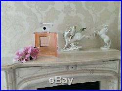 Rare Giant Factice 3,5 Litres Chanel Coco Mademoiselle Store Display (empty)