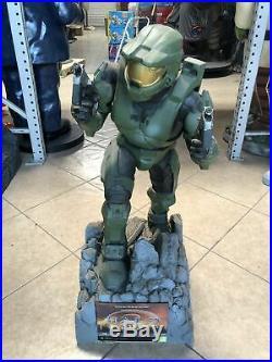 Rare Halo 2 Master Chef Life Size Statue 3ft Store Display Unreleased