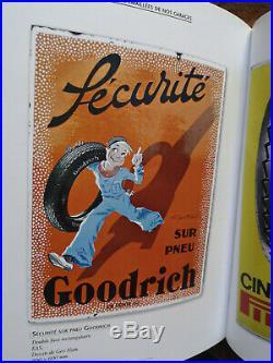 Rare Livre Plaques Emaillées de nos garages B. RIHET De Borée PROCHE NEUF
