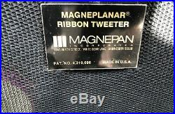 Rare Magnepan Magneplanar Mg 3.3/r Loudspeaker With Crossovers Store Display