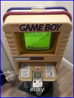 Rare Nintendo Game Boy Kiosk M92V Integrated Demo Boy Counter Store Display
