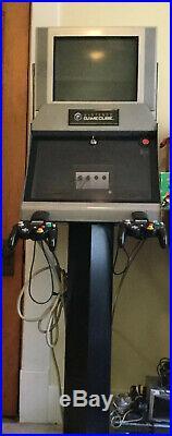 Rare Nintendo Gamecube Video Game Console Store Display Kiosk Interactive