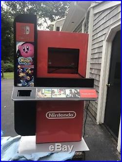 Rare Nintendo Switch Store Display Kiosk Kirby Large Nintendo Switch 65x36