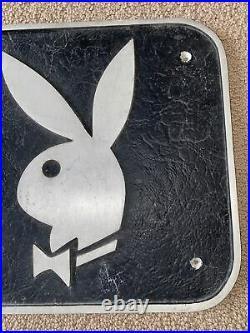 Rare Playboy Club Metal Bunny Sign