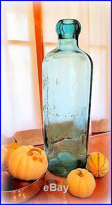 Rare STORE DISPLAY Huge Coca-Cola COKE Bottle -Made after first 1899 Coke BOTTLE