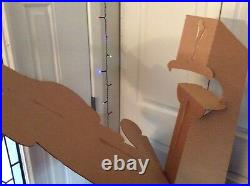 Rare Scooby Doo & the Alien Invaders Cardboard Cut Out Store Display